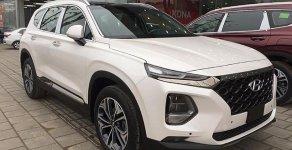 Phiên bản máy xăng đặc biệt: Hyundai SantaFe 2.4L đời 2019, màu trắng giá 1 tỷ 100 tr tại Tp.HCM