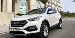 Xe Hyundai Santa Fe 2.2 CRDi đời 2016, màu trắng, giá tốt giá 968 triệu tại Hải Phòng