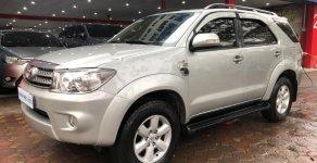 Bán Toyota Fortuner 2.5G năm 2010, màu bạc giá 570 triệu tại Hà Nội