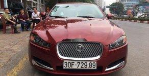 Cần bán gấp Jaguar XF sản xuất năm 2014, màu đỏ, nhập khẩu chính chủ giá 1 tỷ 260 tr tại Hà Nội