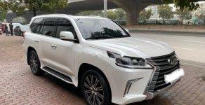 Cần bán xe Lexus LX 570 đời 2018, màu trắng, xe nhập chính chủ giá 8 tỷ 550 tr tại Hà Nội