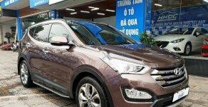 Bán ô tô Hyundai Santa Fe 2.4L 4WD đời 2014, màu nâu, nhập khẩu giá 820 triệu tại Hà Nội