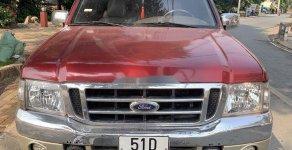 Cần bán xe Ford Ranger XLT 2004, màu đỏ chính chủ, giá 278tr giá 278 triệu tại Tp.HCM