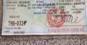 Cần bán Nissan Bluebird 1985, màu trắng, nhập khẩu  giá 20 triệu tại Lâm Đồng