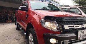 Bán xe Ford Ranger Wildtrak 3.2L 4x4 AT năm 2014, màu đỏ, nhập khẩu nguyên chiếc giá 565 triệu tại Hà Nội