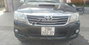 Bán Toyota Hilux 3.0G 4x4 MT sản xuất năm 2013, màu đen, xe nhập giá 425 triệu tại Hà Nội