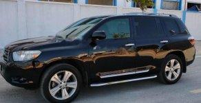 Bán Toyota Highlander sản xuất 2008, màu đen, nhập khẩu nguyên chiếc giá 950 triệu tại Lạng Sơn
