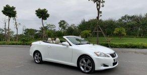 Cần bán xe Lexus IS 250C 2009, màu trắng, xe nhập giá 1 tỷ 250 tr tại Hà Nội