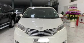 Bán Toyota Sienna Limited 3.5 sản xuất năm 2013, màu trắng, nhập khẩu  giá 2 tỷ 200 tr tại Hà Nội