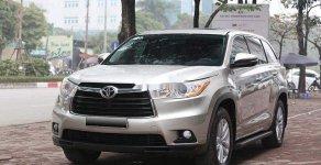 Bán Toyota Highlander LE 2.7 năm sản xuất 2014, màu bạc số tự động giá 1 tỷ 500 tr tại Hà Nội