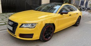 Bán Audi A7 đời 2012, màu vàng, nhập khẩu nguyên chiếc giá 1 tỷ 150 tr tại Tp.HCM