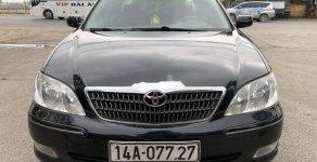 Bán Toyota Camry 2.4G sản xuất 2003, màu đen giá 227 triệu tại Hải Phòng