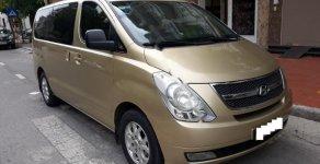 Bán xe Hyundai Starex 2.5 MT năm sản xuất 2011, màu vàng, nhập Khẩu Hàn Quốc   giá 769 triệu tại Thái Bình