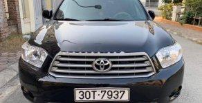 Cần bán gấp Toyota Highlander đời 2008, màu đen, nhập khẩu giá cạnh tranh giá 640 triệu tại Hà Nội