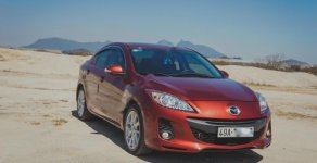 Bán Mazda 3 năm sản xuất 2013, màu đỏ chính chủ giá 405 triệu tại Lâm Đồng