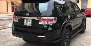 Cần bán gấp Toyota Fortuner 2.7V AT sản xuất 2015, màu đen chính chủ giá 630 triệu tại Hà Nội