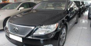Cần bán lại xe Lexus LS 460L đời 2007, màu đen, nhập khẩu giá 1 tỷ 80 tr tại Tp.HCM