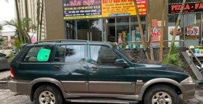 Bán xe Ssangyong Musso sản xuất 2004, màu xanh lam, nhập khẩu nguyên chiếc, giá tốt giá 130 triệu tại Hà Nội