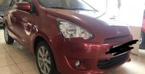 Cần bán lại xe Mitsubishi Mirage 2015, màu đỏ, nhập khẩu nguyên chiếc số tự động giá 335 triệu tại Tp.HCM