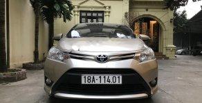 Cần bán lại xe Toyota Vios 1.5E đời 2018, màu vàng xe gia đình giá 429 triệu tại Hà Nội