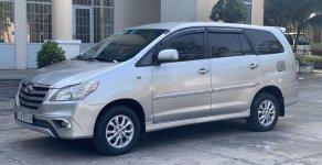 Bán Toyota Innova đời 2014, màu bạc xe gia đình, giá chỉ 480 triệu giá 480 triệu tại BR-Vũng Tàu