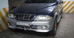 Cần bán xe Ssangyong Musso 2.3 đời 2003, màu xanh lam chính chủ giá cạnh tranh giá 108 triệu tại Tp.HCM