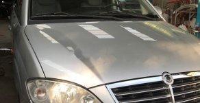 Cần bán lại xe Ssangyong Stavic 2.7 MT đời 2008, màu bạc, nhập khẩu nguyên chiếc giá 210 triệu tại Tp.HCM