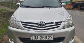 Cần bán gấp Toyota Innova G MT năm 2011, màu bạc xe gia đình giá 385 triệu tại Thái Nguyên