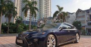 Bán Lexus LS 500h năm 2017, màu xanh lam, nhập khẩu giá 6 tỷ 900 tr tại Hà Nội