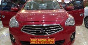 Cần bán gấp Mitsubishi Attrage 1.2 MT sản xuất năm 2016, màu đỏ, xe nhập xe gia đình, 320tr giá 320 triệu tại Đắk Lắk
