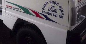 Cần bán Suzuki Super Carry Truck 1.0 MT đời 2001, màu trắng giá 54 triệu tại Đồng Nai
