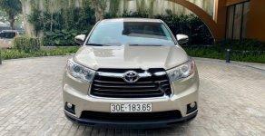Cần bán xe Toyota Highlander LE 2.7 năm 2015, màu vàng, nhập khẩu giá 1 tỷ 599 tr tại Hà Nội