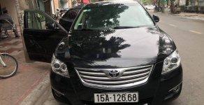Cần bán gấp Toyota Camry 2.4G 2007, màu đen giá 385 triệu tại Hải Phòng