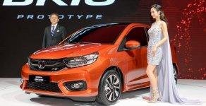 Honda ô tô Long Biên - Cần bán xe Honda Brio RS sản xuất 2020, màu cam giá 448 triệu tại Hà Nội