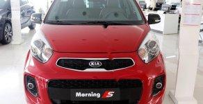 Cần bán xe Kia Morning Luxury sản xuất 2020, màu đỏ giá 393 triệu tại Quảng Ninh
