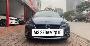 Cần bán lại xe Mazda 3 1.5 2015, màu xanh lam  giá 529 triệu tại Hà Nội