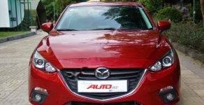 Cần bán lại xe Mazda 3 1.5 AT 2015, màu đỏ   giá 555 triệu tại Thái Nguyên