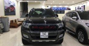 Bán Ford Ranger Wildtrak 3.2L 4x4 AT sản xuất năm 2017, màu đen, nhập khẩu giá 760 triệu tại Quảng Ninh