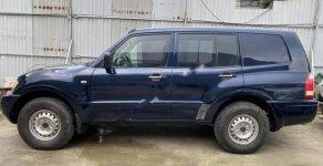 Cần bán Mitsubishi Pajero 4x4MT 2004, màu xanh lam, xe nhập giá 175 triệu tại Hà Nội