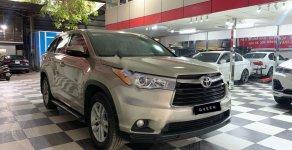 Bán Toyota Highlander 2.7 LE đời 2014, màu vàng, nhập khẩu  giá 1 tỷ 480 tr tại Hà Nội