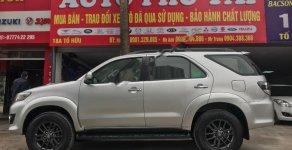Cần bán lại xe Toyota Fortuner 2.5MT 4x2 Diesel năm 2016, màu bạc giá cạnh tranh giá 775 triệu tại Hà Nội