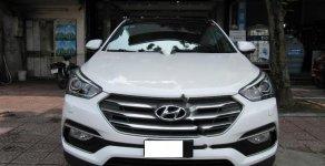 Bán ô tô Hyundai Santa Fe 2.2L 4WD năm 2017, màu trắng xe gia đình giá 1 tỷ 35 tr tại Hà Nội