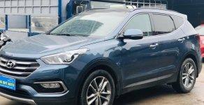 Cần bán gấp Hyundai Santa Fe đời 2017, màu xanh lam giá 1 tỷ 20 tr tại Hà Nội
