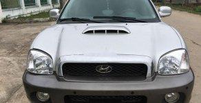 Bán Hyundai Santa Fe đời 2002, màu bạc, xe nhập số tự động, giá chỉ 215 triệu giá 215 triệu tại Ninh Bình