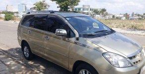 Cần bán gấp Toyota Innova đời 2007, màu vàng, giá tốt giá 285 triệu tại BR-Vũng Tàu