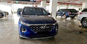 Bán Hyundai Santa Fe 2.2L Premium đời 2019, màu xanh lam giá 1 tỷ 330 tr tại Hà Nội
