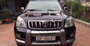 Bán Toyota Land Cruiser Prado sản xuất 2007, màu đen, nhập khẩu  giá 695 triệu tại Hà Nội