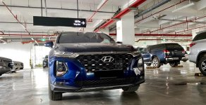 Bán ô tô Hyundai Santa Fe 2.2 đời 2019, màu xanh lam giá 1 tỷ 310 tr tại Hà Nội