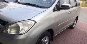 Cần bán gấp Toyota Innova G 2007, màu bạc giá 340 triệu tại Tp.HCM