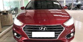 Bán xe Hyundai Accent 1.4MT năm 2018, màu đỏ số sàn, giá 450tr giá 450 triệu tại Tp.HCM